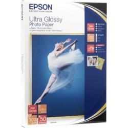 Epson - Ultra Glossy Photo Paper - 13x18cm - 50 Hojas