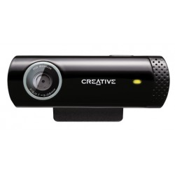 Creative Labs - Live! Cam Chat HD 1280 x 720Pixeles USB 2.0 Negro cámara web