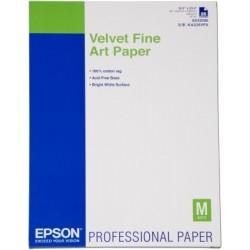 Epson - Velvet Fine Art Paper, DIN A2, 260 g/m², 25 hojas