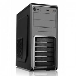 3GO - 6625 carcasa de ordenador Tower Black,Silver 500 W