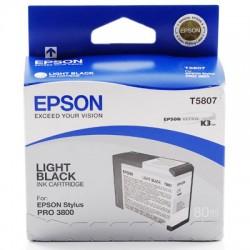 Epson - Cartucho T580700 gris