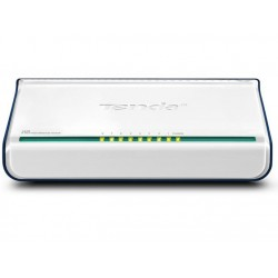 Tenda - 8-Port Fast Ethernet Switch No administrado Blanco