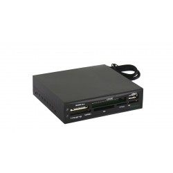 Tacens - Anima ACR1 lector de tarjeta Interno Negro USB 2.0