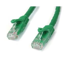 StarTech.com - Cable de 7m Verde de Red Gigabit Cat6 Ethernet RJ45 sin Enganche - Snagless