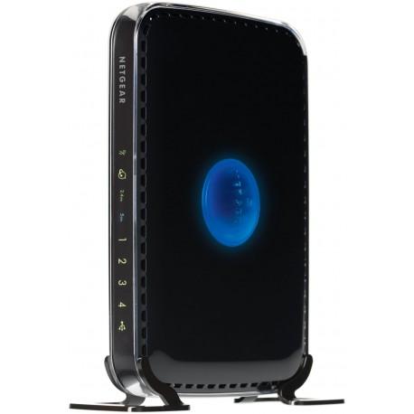 Netgear - WNDR3400 Ethernet rápido Negro router inalámbrico