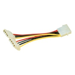 """MCL - Cable alim en Y 5""""1/4 vers 2 X 5""""1/4 cable de transmisión"""