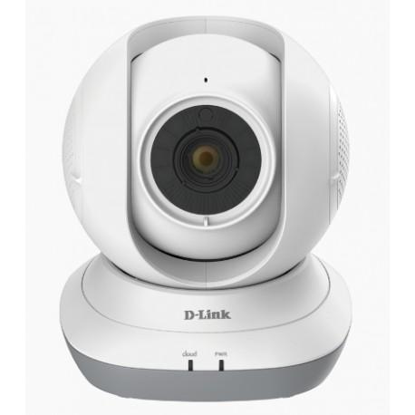 D-Link - DCS-855L Wi-Fi 5m Color blanco video-monitor para bebés