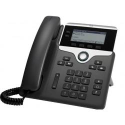 Cisco - 7811 teléfono IP Negro, Plata Terminal con conexión por cable LED 1 líneas