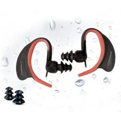 Phoenix Technologies - PHSPORTWATER Dentro de oído Binaurale Alámbrico Negro, Naranja auriculares para móvil