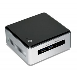 Intel - NUC NUC5i5MYHE i5-5300U 2,3 GHz UCFF Negro, Plata BGA 1168