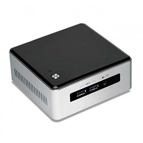 Intel - NUC5i5MYHE BGA 1168 2.3GHz i5-5300U UCFF Negro, Plata