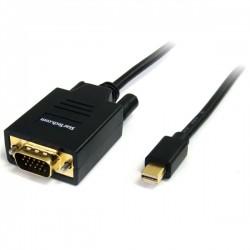 StarTech.com - Cable Adaptador Conversor Mini DisplayPort a VGA 1,8m - Mini DP a HD15 - Macho a Macho