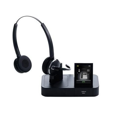 Jabra - PRO 9465 Binaural Diadema Negro auricular con micrófono