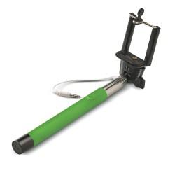 Celly - SELFIEGN palo para autofotos Smartphone Verde