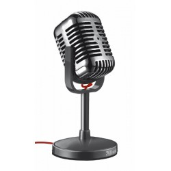 Trust - 20111 PC microphone Alámbrico Negro micrófono