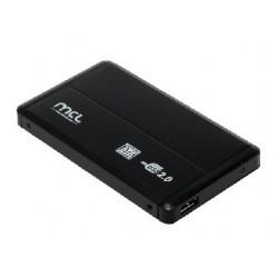 "MCL - 8DM2-USB2SA caja para disco duro externo 2.5"" Caja de disco duro (HDD) Negro"