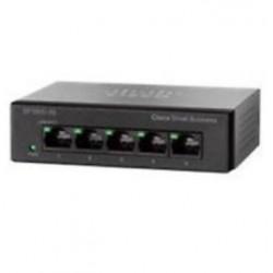 Cisco - SG110D-05 No administrado L2 Gigabit Ethernet (10/100/1000) Negro