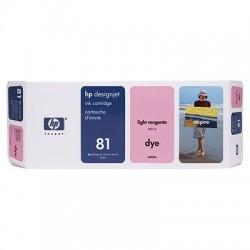 HP - Cartucho de tinta colorante DesignJet 81 magenta claro de 680 ml