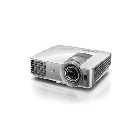 Benq - MS630ST Proyector para escritorio 3200lúmenes ANSI DLP SVGA (800x600) 3D Plata, Color blanco videoproyector