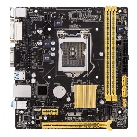 ASUS - H81M-R Intel H81 LGA 1150 (Socket H3) microATX placa base