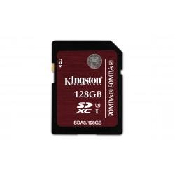 Kingston Technology - SDXC UHS-I U3 (SDA3) 128GB 128GB SDXC UHS Clase 3 memoria flash