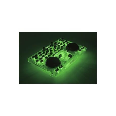Hercules - 4780839 Magnetic tape scratcher 2channels Verde controlador dj