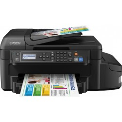 Epson - EcoTank ET-4550 4800 x 1200DPI Inyección de tinta A4 13.7ppm Wifi multifuncional