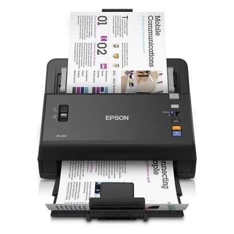 Epson - WorkForce DS-860N Escáner alimentado con hojas 600 x 600DPI A3 Negro