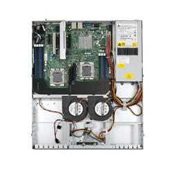 Intel - SR1630BCR Socket B (LGA 1366) 1U Aluminio, Negro servidor barebone