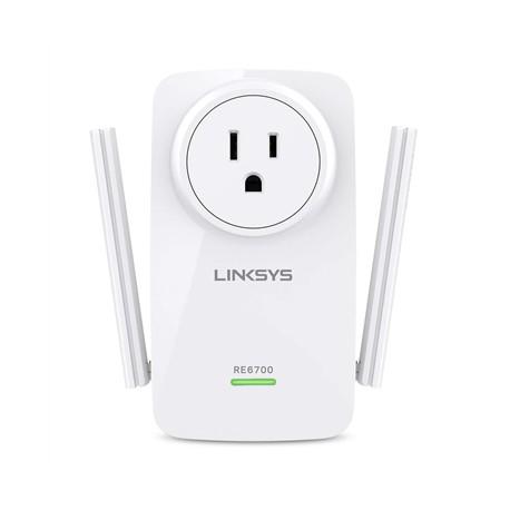 Linksys - RE6700 Ethernet Wifi Blanco 1pieza(s) adaptador de red powerline