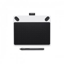 Wacom - Intuos Draw 2540líneas por pulgada 152 x 95mm USB Color blanco, Negro tableta digitalizadora