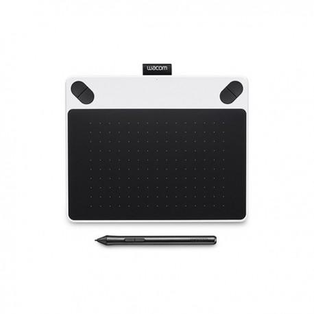 Wacom - Intuos Draw 2540líneas por pulgada 152 x 95mm USB Color blanco, Negro tableta digitalizadora