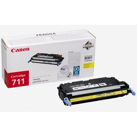 Canon - Cartridge 711 Yellow