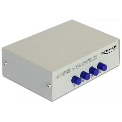 DeLOCK - 87635 Alámbrico serie de caja de interruptor