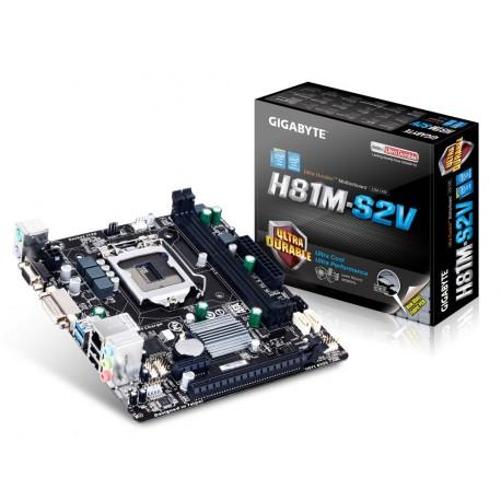 Gigabyte - GA-H81M-S2V Intel H81 LGA 1150 (Socket H3) Micro ATX placa base