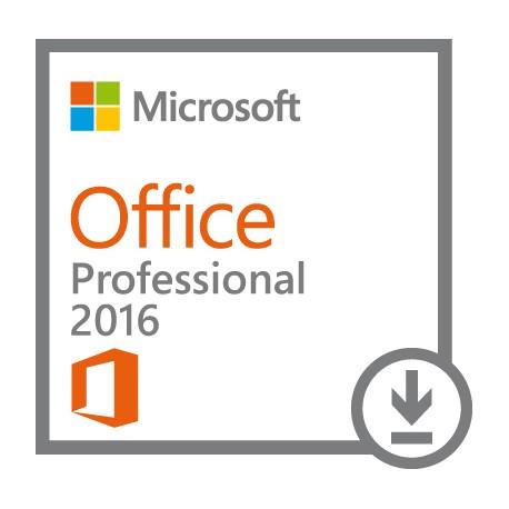 Microsoft - Office Professional 2016 1usuario(s) Plurilingüe