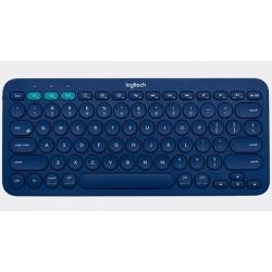 Logitech - K380 Bluetooth QWERTY Español Azul