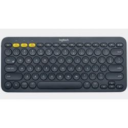 Logitech - K380 teclado Bluetooth QWERTY Español Gris