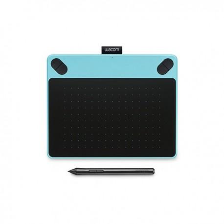 Wacom - Intuos Comic 2540líneas por pulgada 152 x 95mm USB Azul, Negro tableta digitalizadora