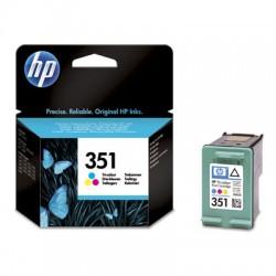 HP - 351 1 pieza(s) Original Rendimiento estándar Cian, Magenta, Amarillo
