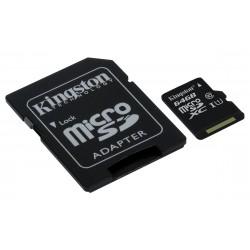 Kingston Technology - microSDXC Class 10 UHS-I Card 64GB 64GB MicroSDXC UHS-I Clase 10 memoria flash - 17926893