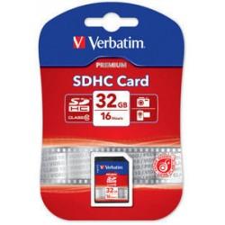 Verbatim - Premium 32GB SDHC Clase 10 memoria flash