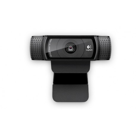 Logitech - C920 15MP 1920 x 1080Pixeles USB 2.0 Negro cámara web
