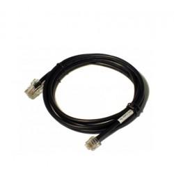 APG Cash Drawer - RJ-12/RJ-45 1.5m Negro cable de impresora