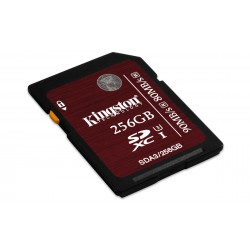Kingston Technology - SDXC UHS-I U3 (SDA3) 256GB 256GB SDXC UHS Clase 3 memoria flash