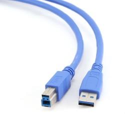 Gembird - USB 3.0 A - USB 3.0 B, 0.5m cable USB 0,5 m 3.2 Gen 1 (3.1 Gen 1) USB A USB B Azul