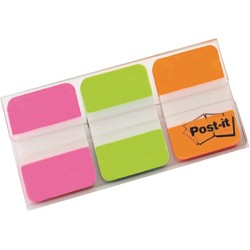 3M - 686-PGO Blank tab index Verde, Naranja, Rosa lengüeta de índice