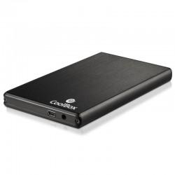 "CoolBox - Slimchase 2520 Carcasa de disco duro/SSD 2.5"" USB con suministro de corriente Plata"