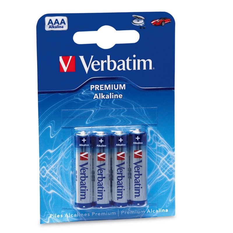 Verbatim - Pilas alcalinas AAA