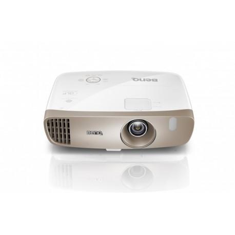 Benq - W2000 Proyector para escritorio 2000lúmenes ANSI DLP 1080p (1920x1080) 3D Oro videoproyector